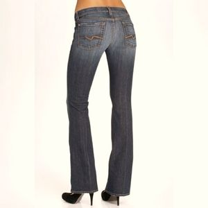 7 for All Mankinds Bootcut Jeans